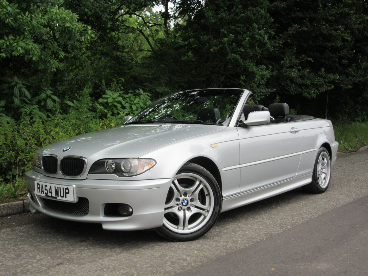2004 BMW 3 SERIES 2.0 318CI SPORT CONVERTIBLE 2d 141 BHP For Sale (picture 1 of 6)
