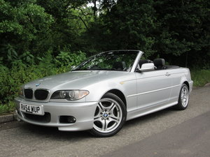 2004 BMW 3 SERIES 2.0 318CI SPORT CONVERTIBLE 2d 141 BHP For Sale