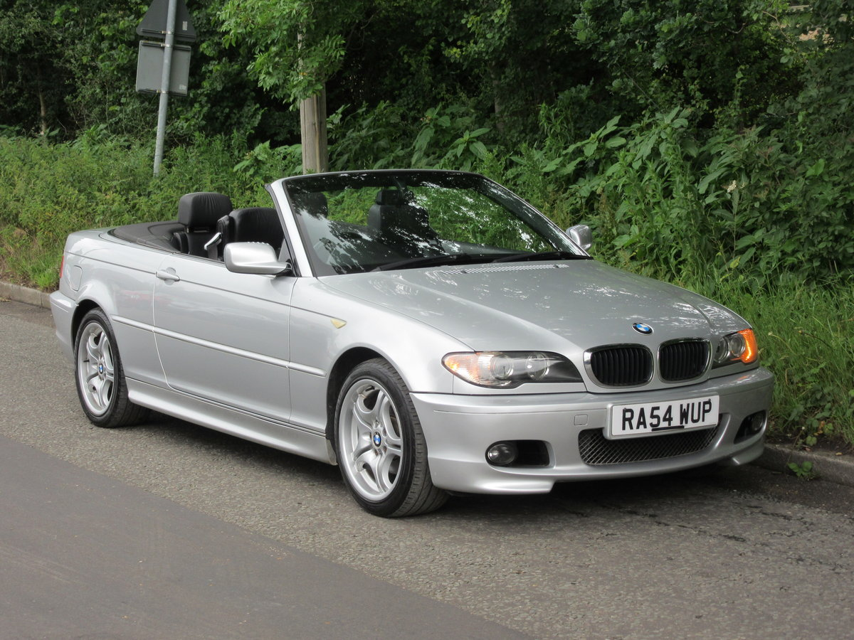 2004 BMW 3 SERIES 2.0 318CI SPORT CONVERTIBLE 2d 141 BHP For Sale (picture 2 of 6)