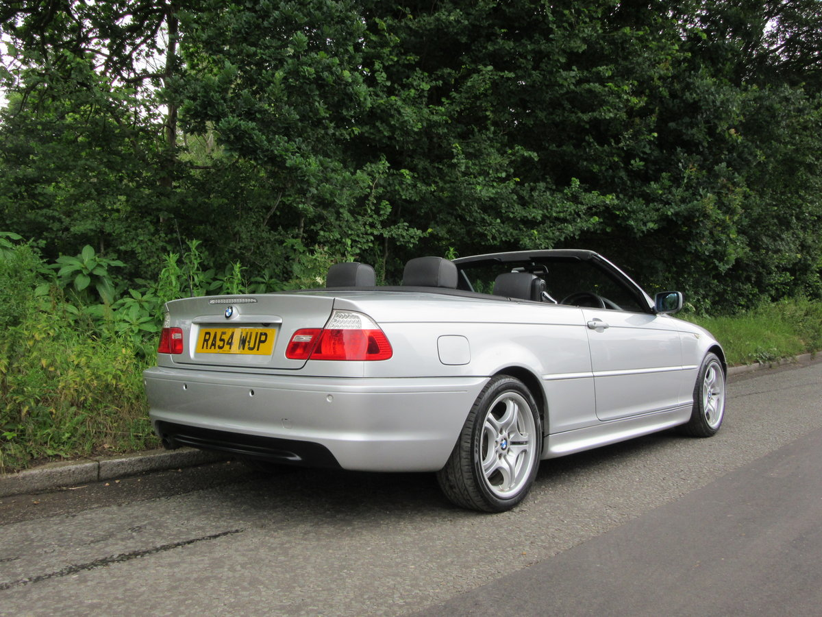 2004 BMW 3 SERIES 2.0 318CI SPORT CONVERTIBLE 2d 141 BHP For Sale (picture 3 of 6)