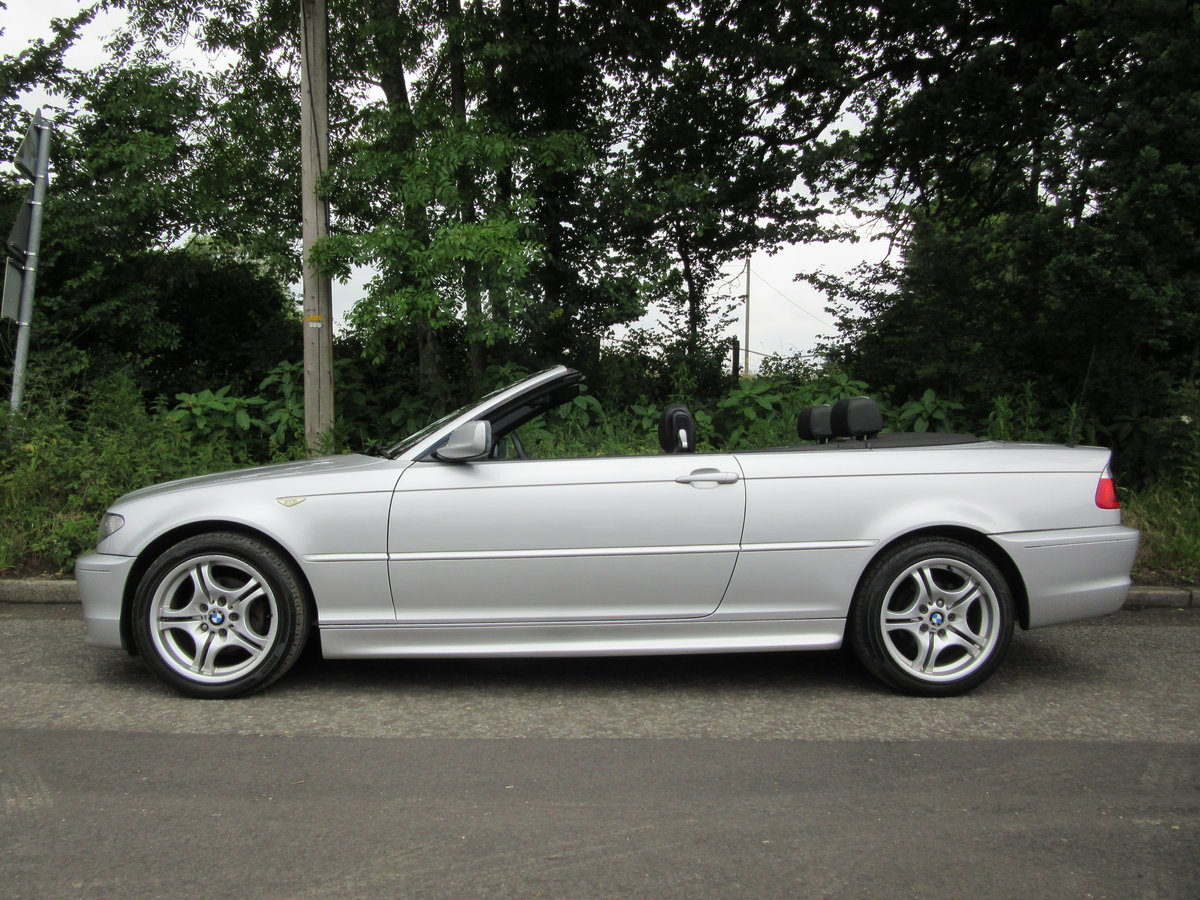 2004 BMW 3 SERIES 2.0 318CI SPORT CONVERTIBLE 2d 141 BHP For Sale (picture 4 of 6)