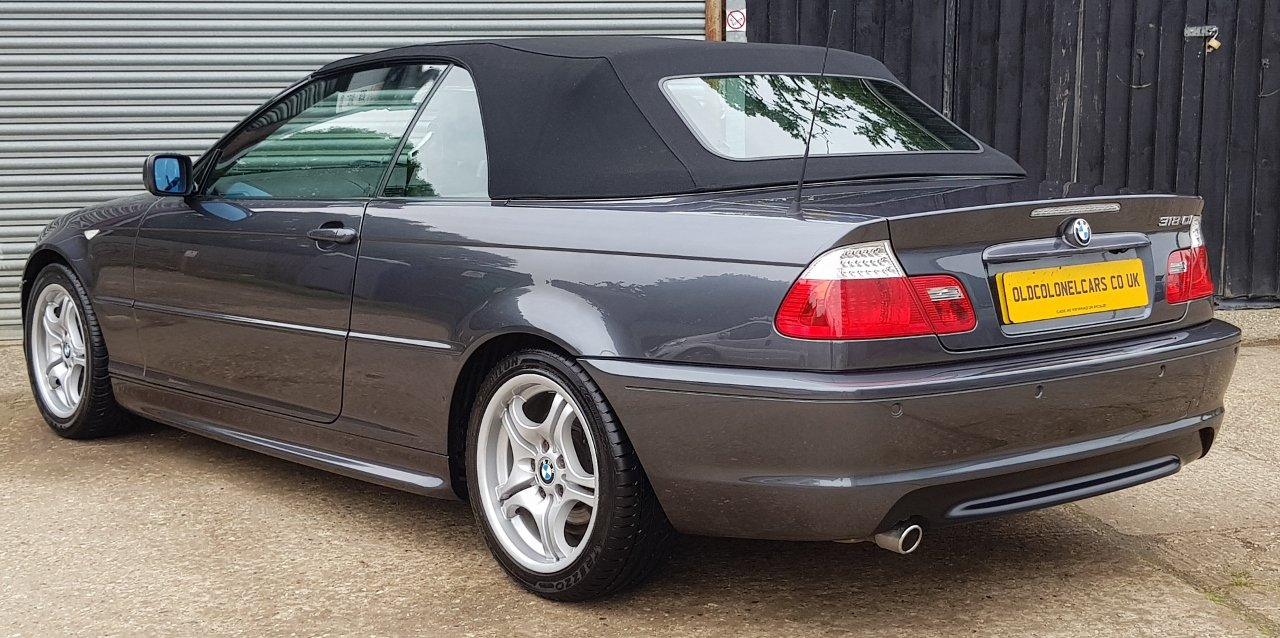 2006 Stunning E46 318(2.0) M Sport Convertible -Only 38,000 Miles For Sale (picture 3 of 6)