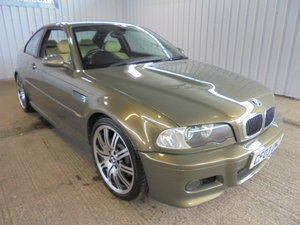 2003 *** BMW M3 Coupe 3246cc Manual - 20th July *** For Sale by Auction