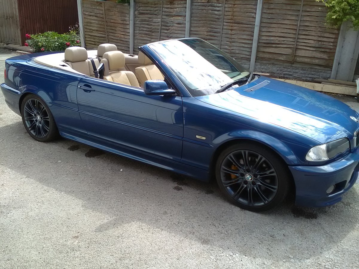 2001 BMW 330i M SPORT CONVERTIBLE AUTO 95000  For Sale (picture 1 of 6)