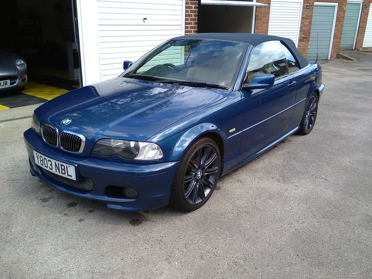2001 BMW 330i M SPORT CONVERTIBLE AUTO 95000  For Sale (picture 2 of 6)