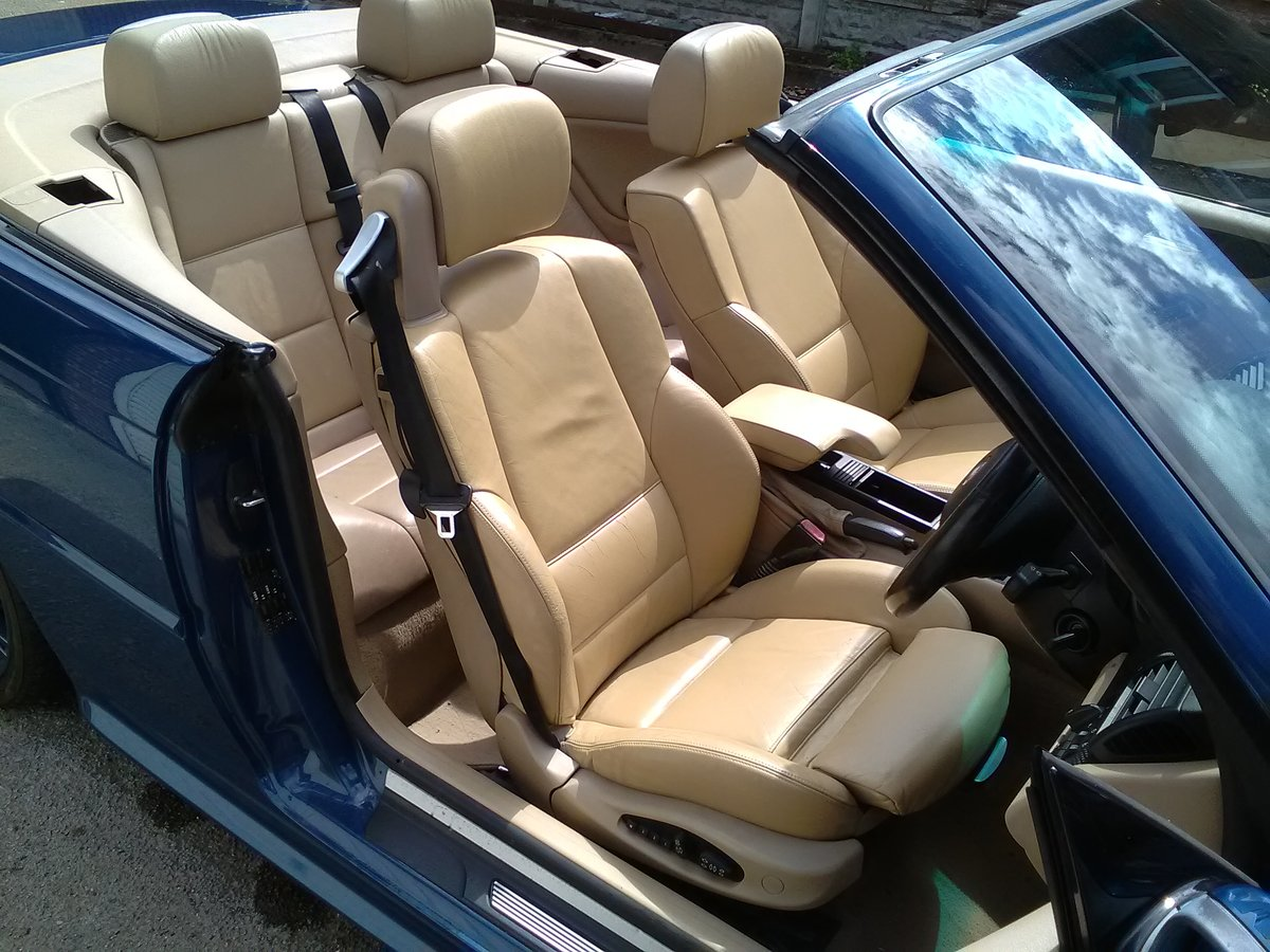 2001 BMW 330i M SPORT CONVERTIBLE AUTO 95000  For Sale (picture 5 of 6)