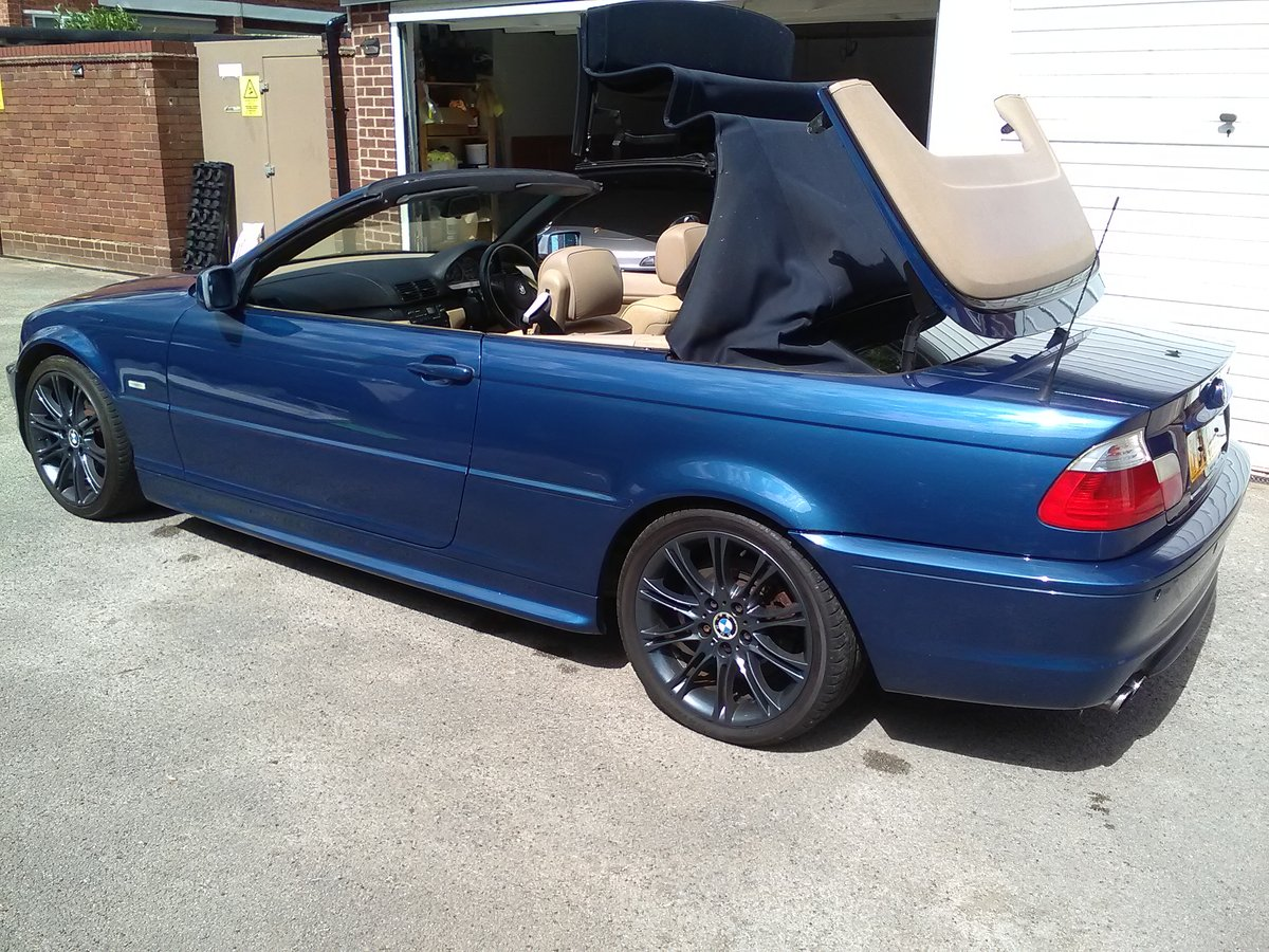 2001 BMW 330i M SPORT CONVERTIBLE AUTO 95000  For Sale (picture 6 of 6)