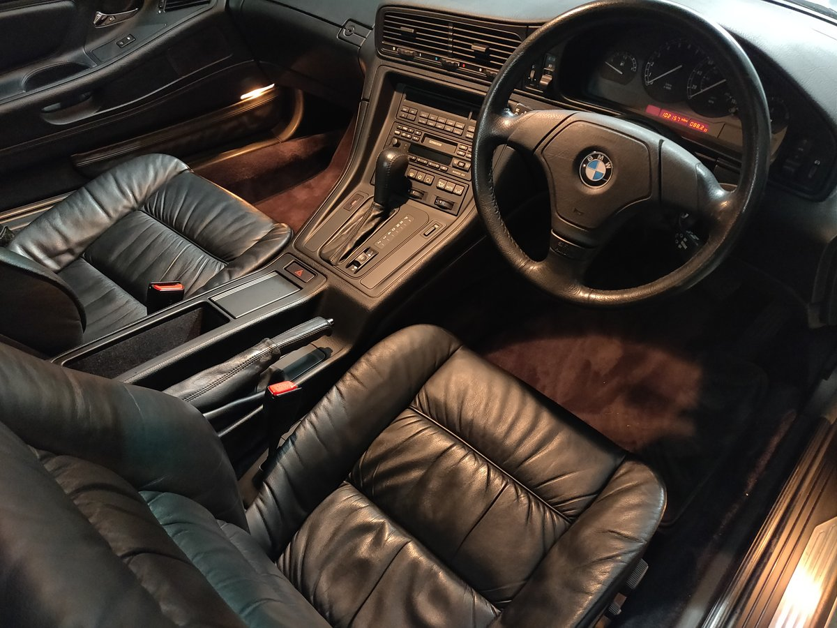 1995 BMW 840Ci Coupe E31 SOLD For Sale (picture 5 of 6)