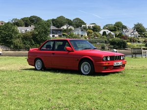 1990 G E30 BMW 325i SPORT MANUAL BRILLIANT RED IMMACULATE For Sale
