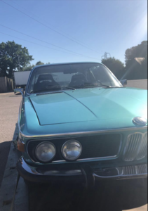 BMW E9 3.0 CSi Coupe LHD Manual 1972