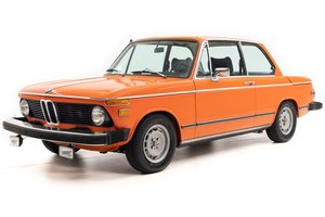 1975 BMW 2002  = low 24.7k miles 320 Engine Orange $22.5k For Sale