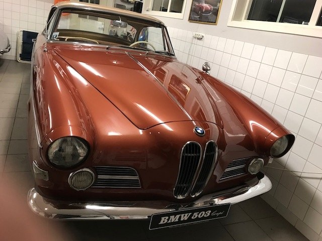 1956 BMW 503 Coupé  For Sale (picture 2 of 4)