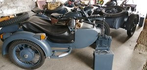 1975 BMW Wehrmacht replica  with sidecar