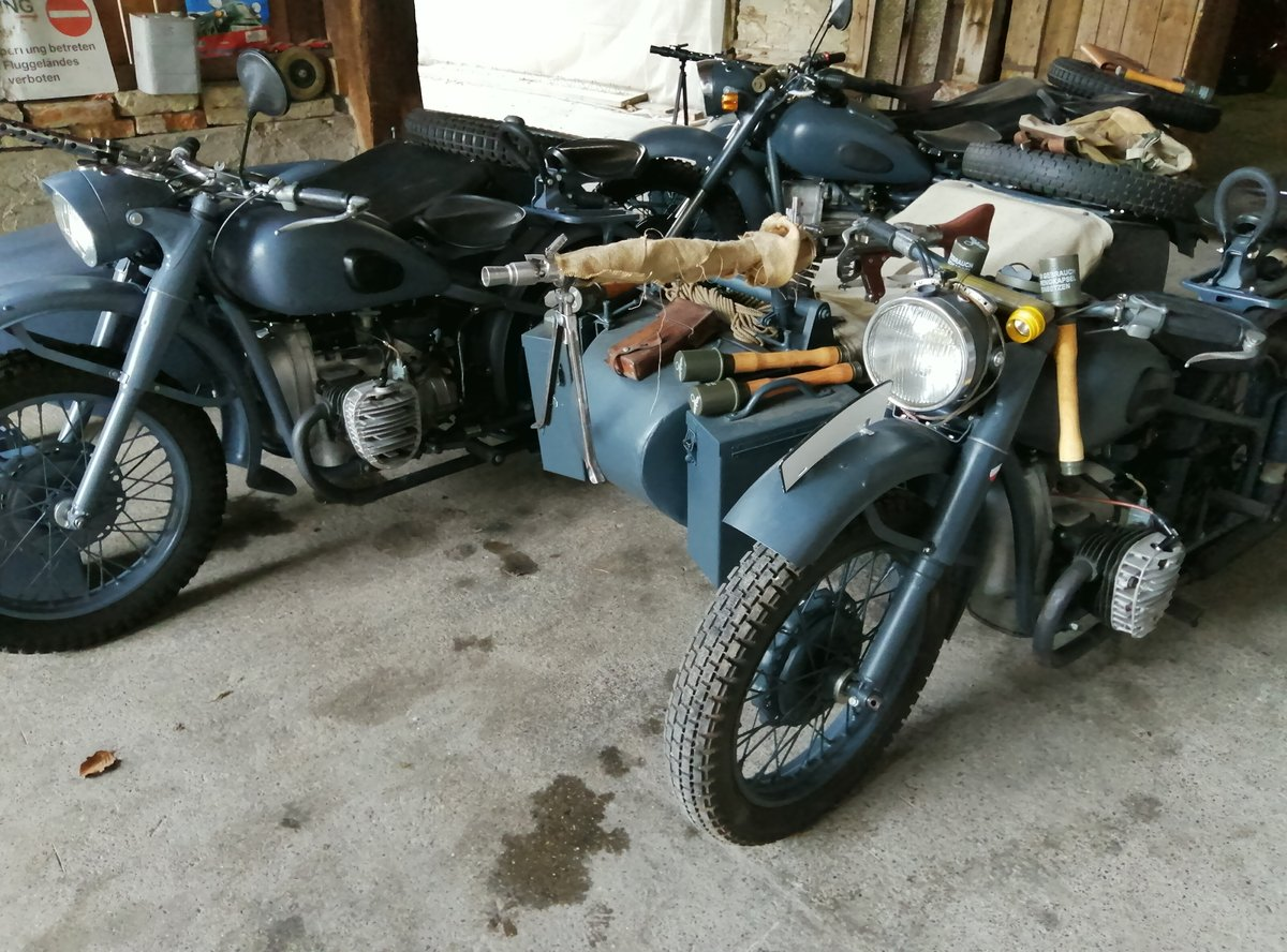 1975 BMW Wehrmacht replica  with sidecar For Sale (picture 1 of 6)