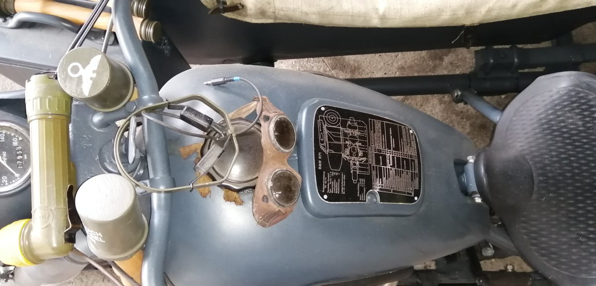 1975 BMW Wehrmacht replica  with sidecar For Sale (picture 2 of 6)