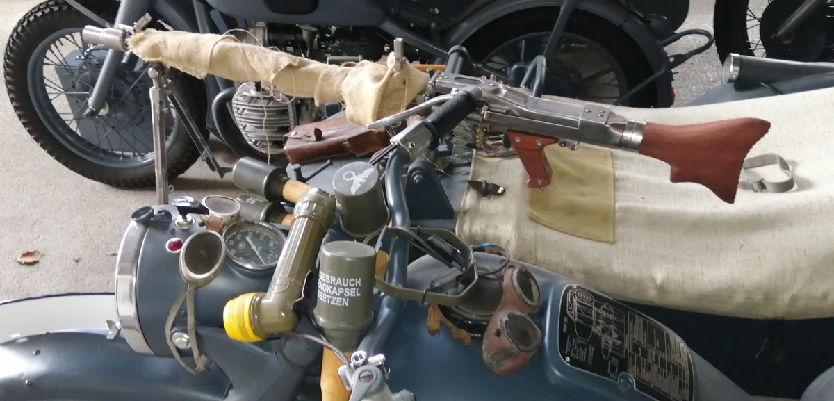 1975 BMW Wehrmacht replica  with sidecar For Sale (picture 3 of 6)