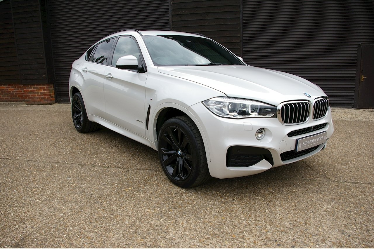 2016 BMW X6 3.0 40d M Sport XDrive Auto (18,843 miles)  SOLD (picture 1 of 6)