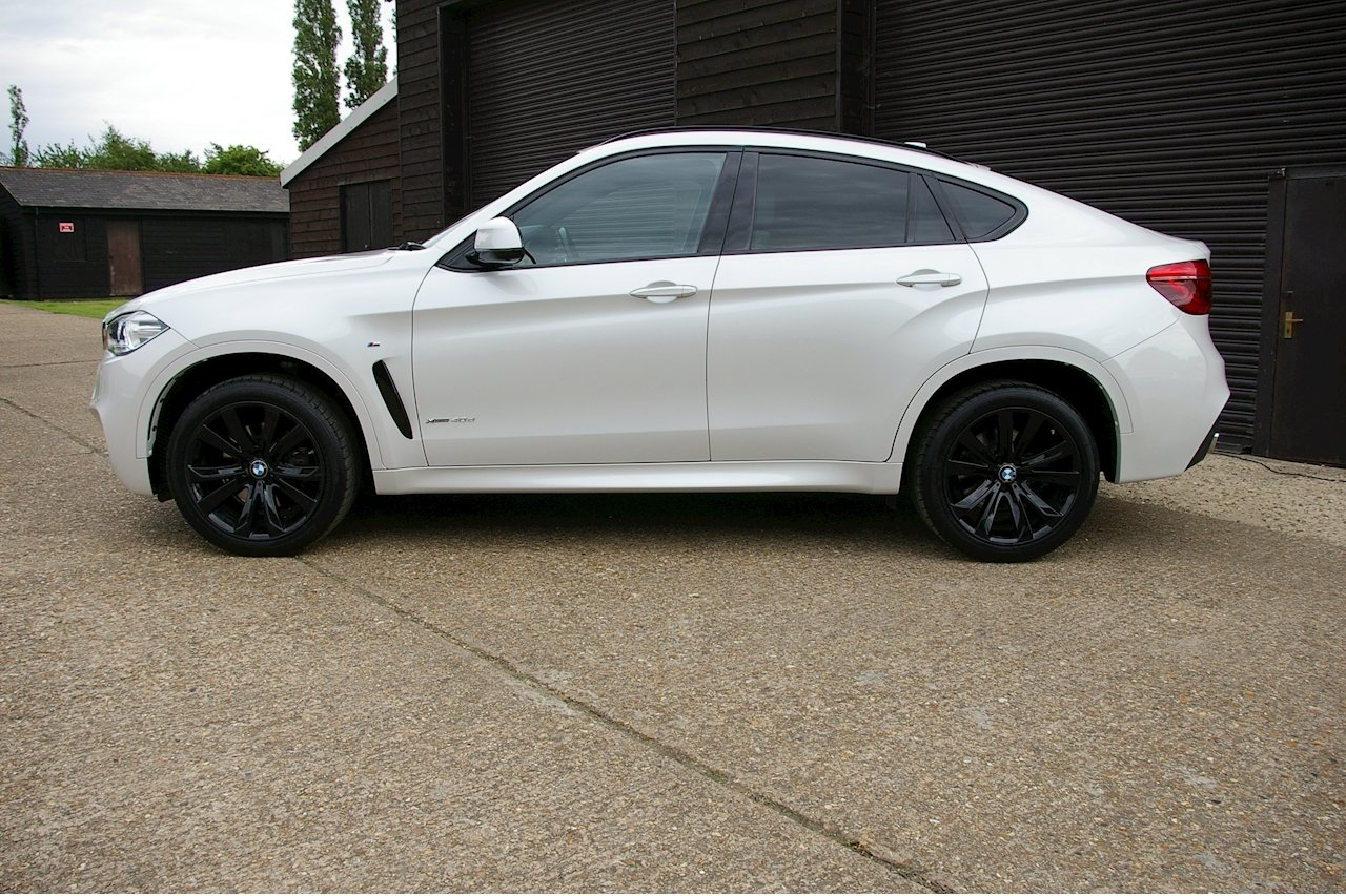 2016 BMW X6 3.0 40d M Sport XDrive Auto (18,843 miles)  SOLD (picture 2 of 6)