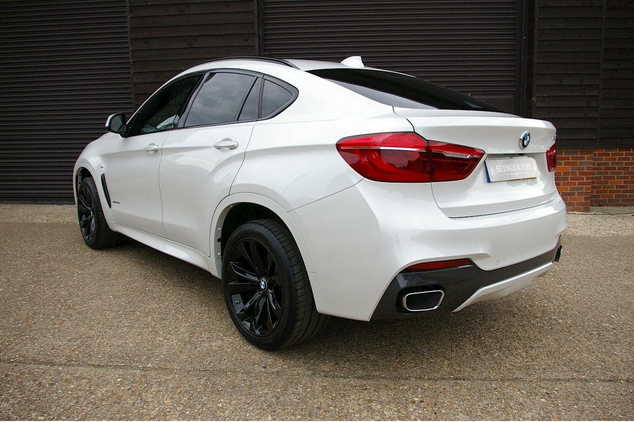 2016 BMW X6 3.0 40d M Sport XDrive Auto (18,843 miles)  SOLD (picture 3 of 6)