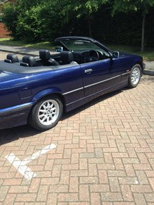 BMW 3 SERIES 2.8 CONVERTIBLE AUTOMATIC 1997