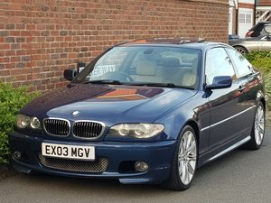 2003 BMW 330 CI M SPORT COUPE - HIGH SPEC - MANUAL GEARBOX - 231