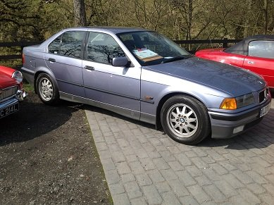 1994 bmw 320i se number 4 of the production line For Sale