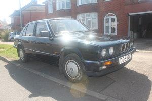 BMW E30 320i 1986 black