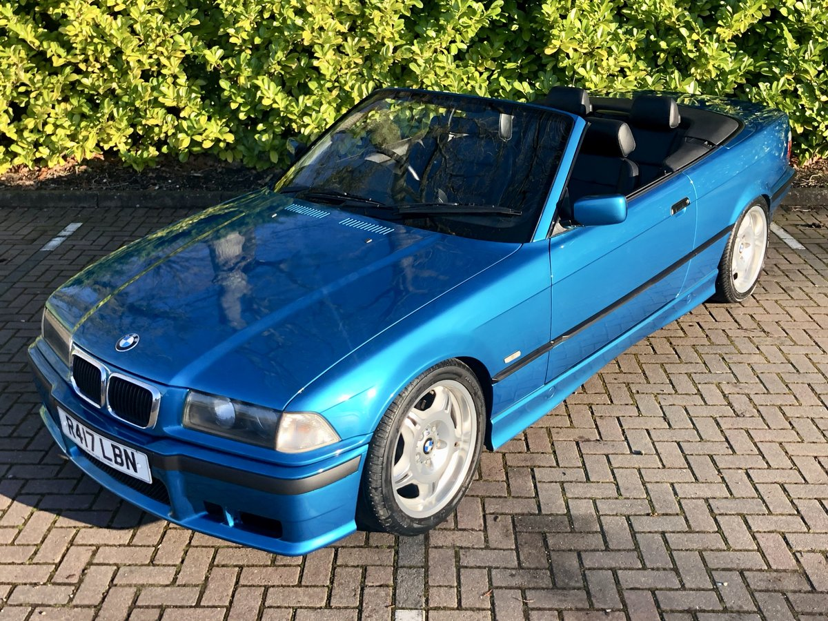 1997 BMW 328I // CONVERTIBLE // 2.8L // AUTO // 190BHP //px swap SOLD (picture 1 of 6)