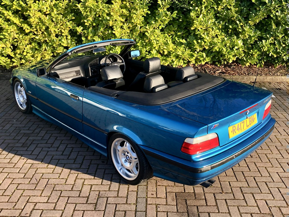1997 BMW 328I // CONVERTIBLE // 2.8L // AUTO // 190BHP //px swap SOLD (picture 3 of 6)