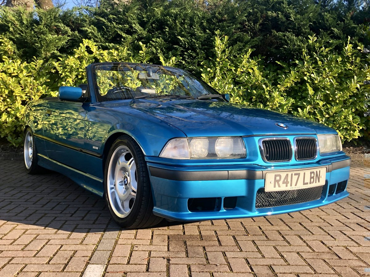 1997 BMW 328I // CONVERTIBLE // 2.8L // AUTO // 190BHP //px swap SOLD (picture 5 of 6)