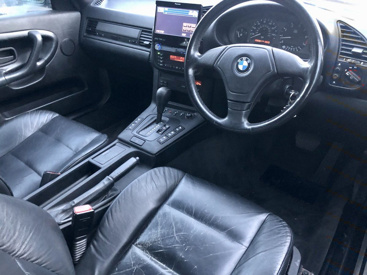 1997 BMW 328I // CONVERTIBLE // 2.8L // AUTO // 190BHP //px swap SOLD (picture 6 of 6)