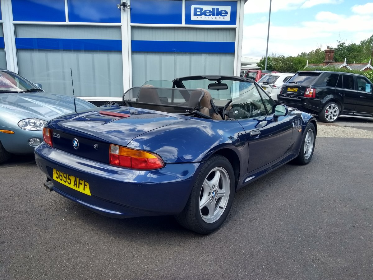 1999 BMW Z3 2.8 2dr WIDE BODY 2.8L. LOW MILEAGE For Sale (picture 2 of 6)