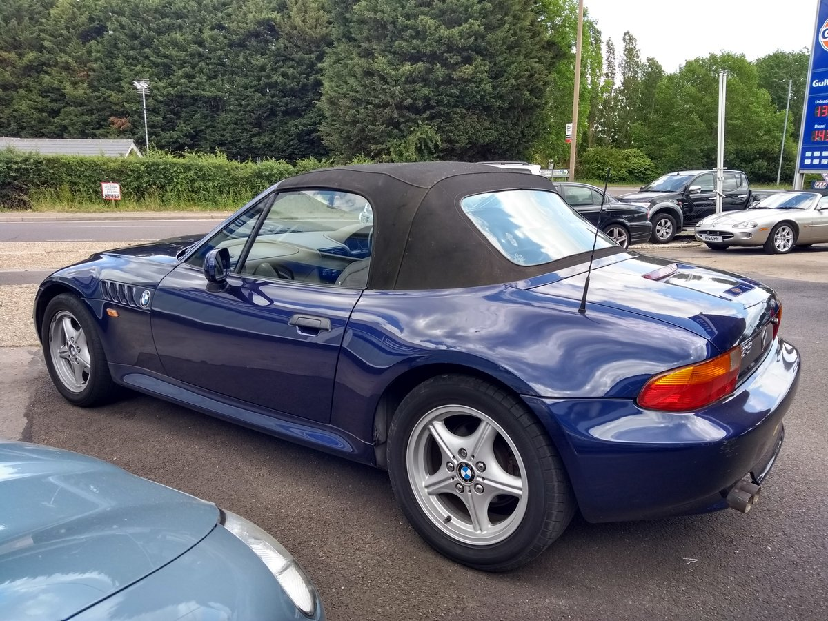1999 BMW Z3 2.8 2dr WIDE BODY 2.8L. LOW MILEAGE For Sale (picture 5 of 6)