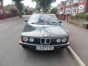 1986 Low Mileage E23 7 Series  SOLD