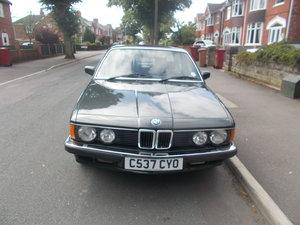 1986 Low Mileage E23 7 Series