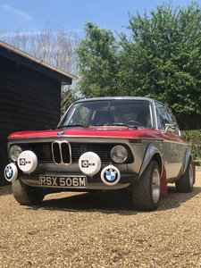 1974 BMW 2002 Nut and Bolt Competition Restoration For Sale