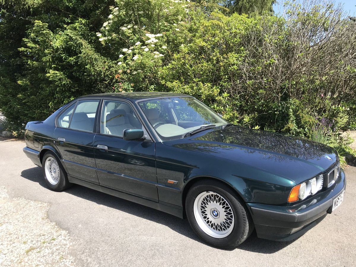 1995 BMW 525i SE + Auto. Husband & wife owned 18 years! For Sale (picture 1 of 6)