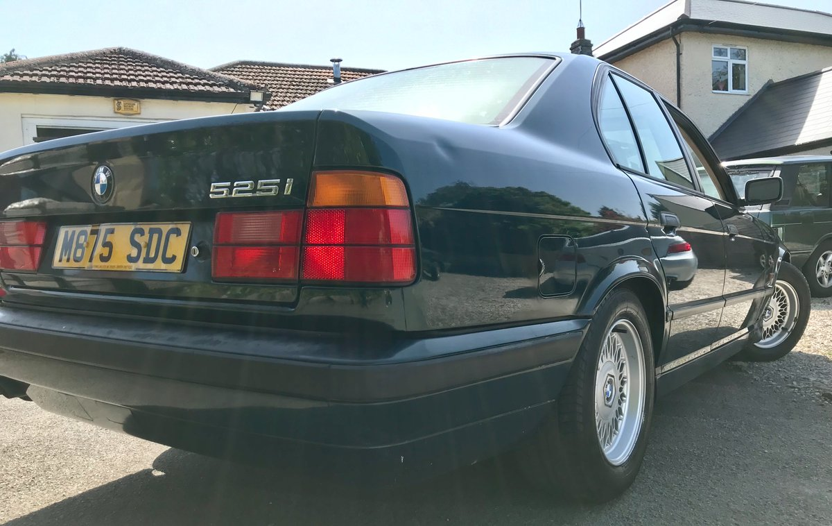 1995 BMW 525i SE + Auto. Husband & wife owned 18 years! For Sale (picture 3 of 6)