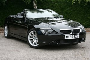 2005 BMW 630i Auto Convertible - Low Miles For Sale