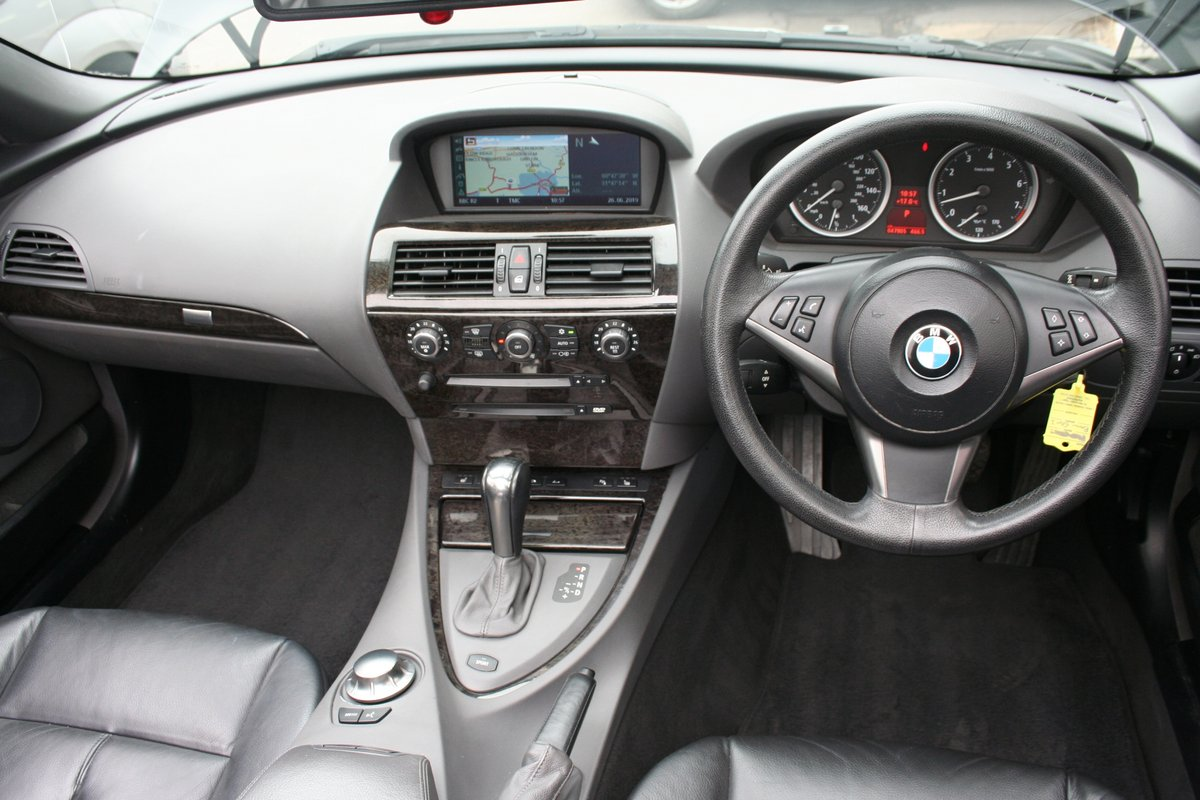 2005 BMW 630i Auto Convertible - Low Miles SOLD (picture 2 of 6)