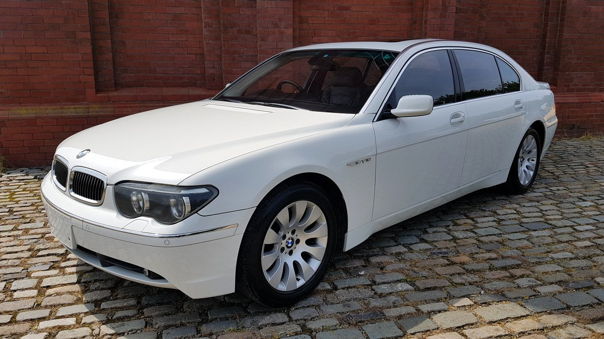 2005 BMW 7 SERIES 760 LI LWB V8 6.0 AUTOMATIC * LEATHER SEATS *  For Sale (picture 1 of 6)