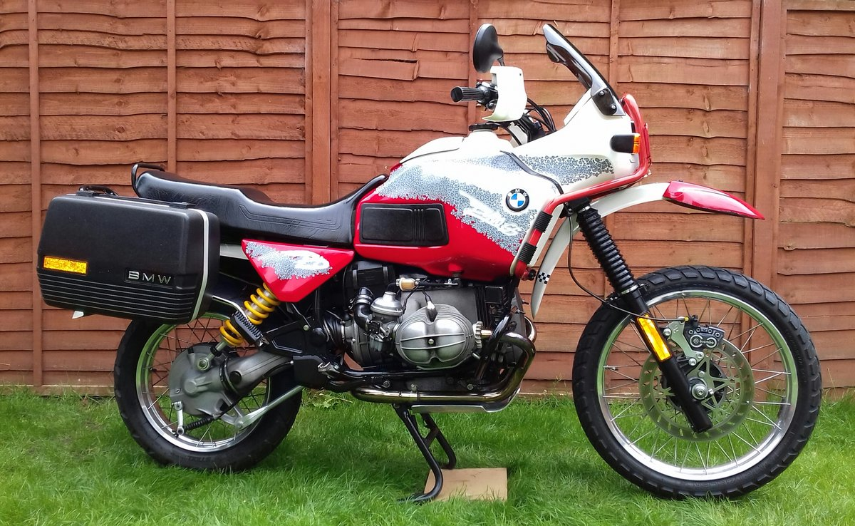 1993 Bmw R100GS pd For Sale (picture 1 of 6)