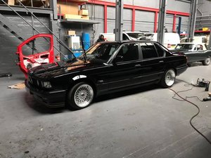 1991 Bmw e32 fully restored schwartz black 2