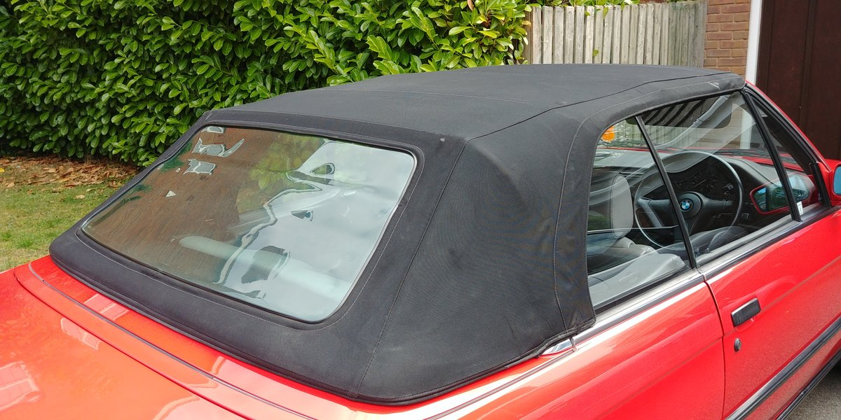 1991 BMW E30 320 cabriolet For Sale (picture 6 of 6)