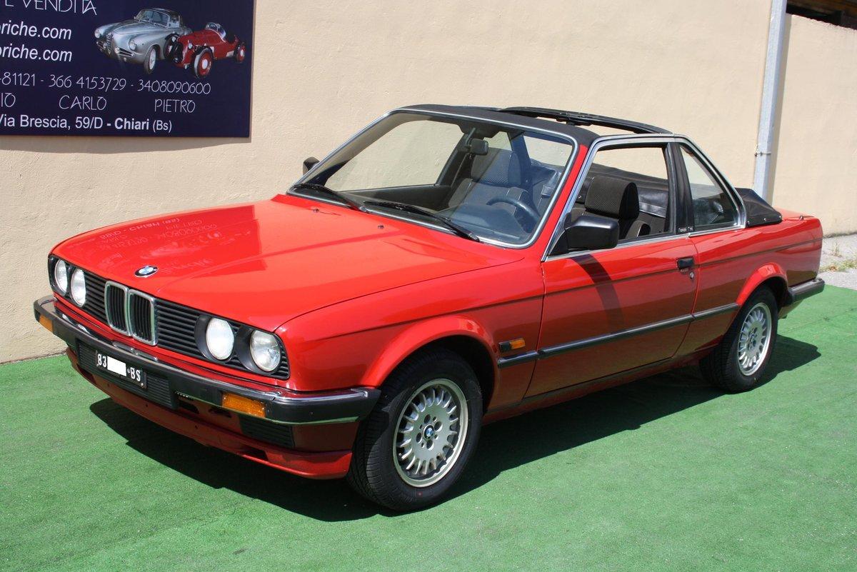 huge discount 4a06b 0f02f BMW 320I BAUR OF 1983 12600KM For Sale | Car And Classic