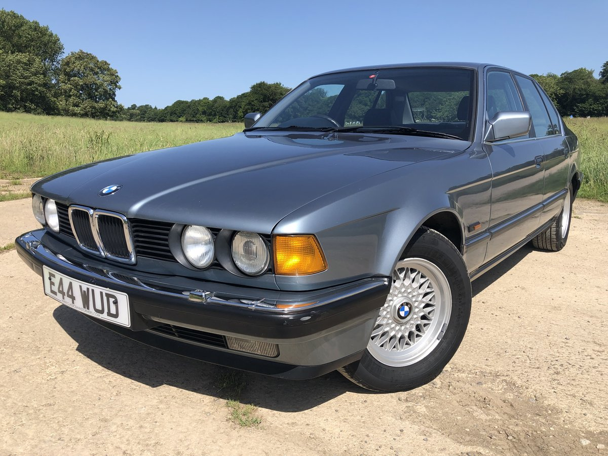 1987 BMW E32 730i, manual, superb condition, history For Sale (picture 1 of 6)