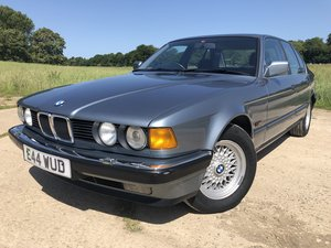 1987 BMW E32 730i, manual, superb condition, history For Sale