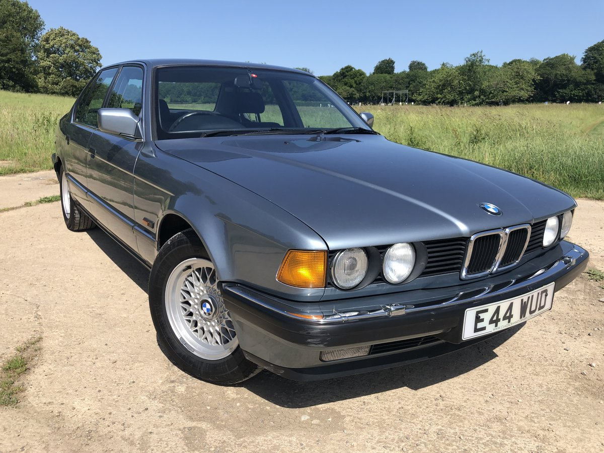 1987 BMW E32 730i, manual, superb condition, history For Sale (picture 2 of 6)
