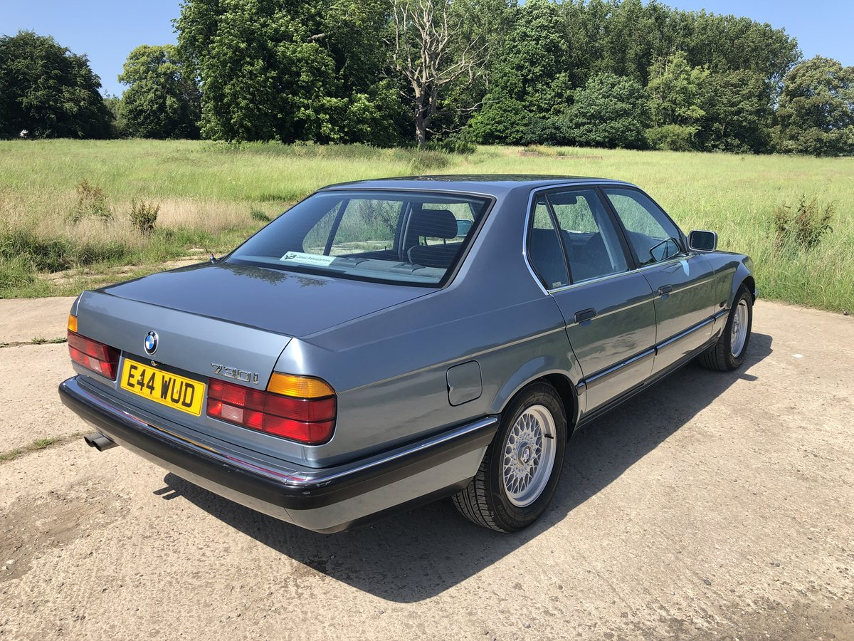 1987 BMW E32 730i, manual, superb condition, history For Sale (picture 3 of 6)