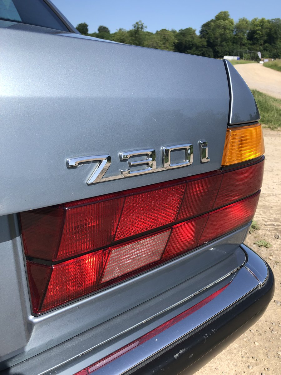 1987 BMW E32 730i, manual, superb condition, history For Sale (picture 6 of 6)